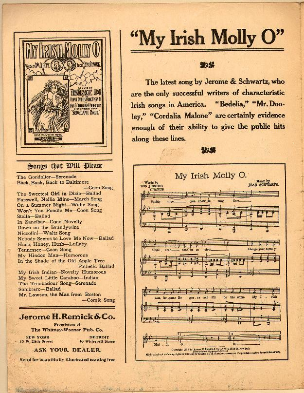 When The Mockingbirds Are Singing In The Wildwood 1906 Sheet