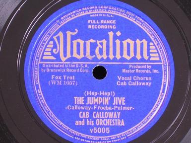 1939 Jumpin' Jive-Cab Calloway-Vocalion 5005 (40p)