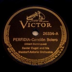1939 Perfidia-Xavier Cugat-Victor 26334-(1a)