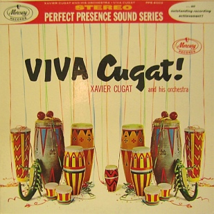 1961 Viva Cugat!-Xavier Cugat and his Orch.-Mercury ‎PPS 6003