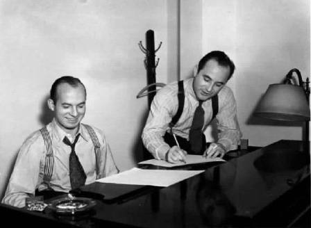 Jimmy Van Heusen and Johnny Burke-1
