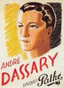 André Dassary-disques pathe-poster-1