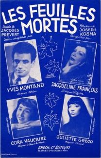 Les Feuilles Mortes-French interpreters