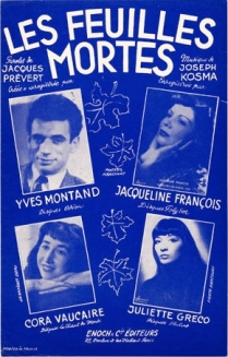 Les Feuilles Mortes-French interpreters