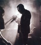 Miles Davis in profile (by Dennis Stock)-1