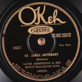 1928 St. James Infirmary-Louis Armstrong & his Savoy Ballroom Five-OKeh 8657