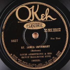 1928 St. James Infirmary-Louis Armstrong & his Savoy Ballroom Five-OKeh 8657