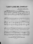 1893-Can't Lose Me, Charlie-sheet 2-Brown Univ