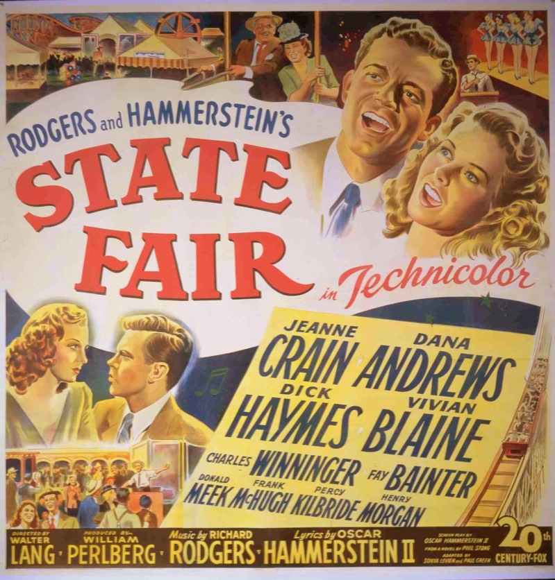 1945-State Fair-poster-1-f35w1 | Songbook