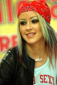 Christina Aguilera - red bandana (1)