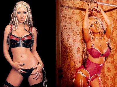 Christina Aguilera - handcuffs (1)