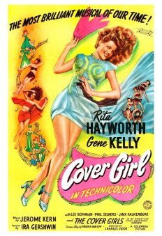 Cover Girl (1944) poster-Rita Hayworth, Gene Kelly (1a)