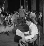 Frank Sinatra and Axel Stordahl, Liederkrantz Hall-c1947-2
