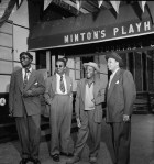 Thelonious Monk, Howard McGhee, Roy Eldridge, and Teddy Hill, Minton's Playhouse, N.Y.C., 1947
