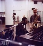 Thelonius Monk and Gerry Mulligan-Bob Parent- Getty Images 12 August, 1957-f20