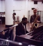 Thelonius Monk and Gerry Mulligan-Bob Parent- Getty Images 12 August, 1957