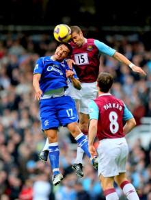 West Ham United v. Everton-premier league 1