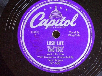 1949 Lush Life-Nat King Cole and his Trio-Capitol 57 606 (50p)-d40
