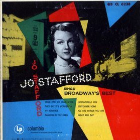 1953 Sings Broadway's Best-Jo Stafford-Columbia CL 6238