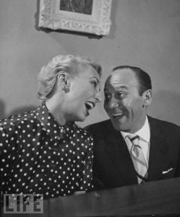 Frank Loesser and wife Lynn Garland-LIFE photo-1