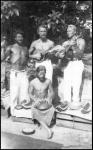 Nature Boys_c. 1948_Gypsy Boots, eden ahbez (seated), Bob Wallace and EmilZimmerman_1