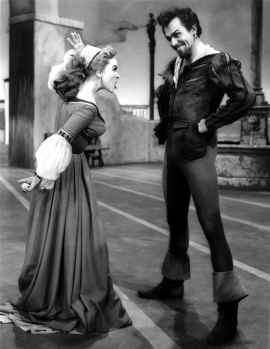 Patricia Morison and Alfred Drake in Kiss Me Kate (2)
