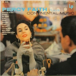 1953 Percy Faith Plays Continental Music-Columbia CL 525 (Mono)