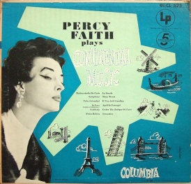 1953 Percy Faith Plays Continental Music-Columbia CL 525