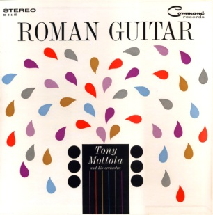 1960 Roman Guitar-Tony Mottola, Command RS 816 SD (Stereo)