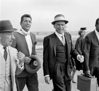 Frank Sinatra-Dean Martin-airport- August 1961-d8
