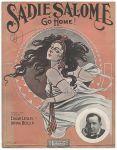 1909-Sadie Salome-Edgar Leslie-Irving Berln-sheet