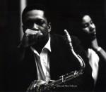 John Coltrane and wife Alice-1962-1