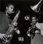 John Coltrane-Lee Morgan,1960-photo-Francis Wolff