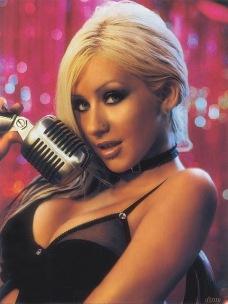 Christina Aguilera - choker