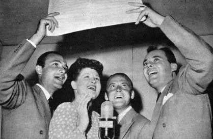 Pied Pipers, with Jo Stafford, 1944