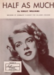 1951-Half as Much-Rosemary Clooney-hit in '52