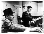 Frank Sinatra-58 w Elmer Bernstein in studio-1