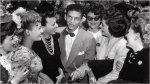 Frank Sinatra-August 1943, at Pasadena with RKO starlets posing as fans-1a