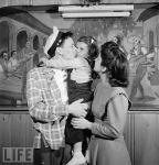 Frank Sinatra-family-Life Mag spread