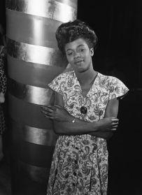 Sarah Vaughan at Cafe Society, 1946-Wm. Gottlieb-no.2