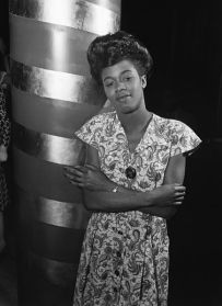 Sarah Vaughan at Cafe Society, 1946-Wm. Gottlieb-no.2