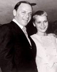 Frank Sinatra with wife Mia Farrow, 1966