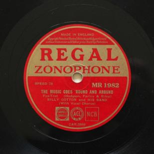 1936 The Music Goes 'Round and Around-Billy Cotton and his Band-Regal Zonophone MR 1982
