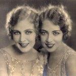 Doris Eaton with sister-1