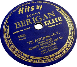 1941 'Tis Autumn-Bunny Berigan-Elite 5005-d50