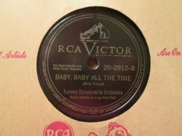 1947 Baby, Baby All the Time-Tommy Dorsey and his Orchestra-RCA Victor 20-2912