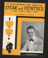 1934 If Love Make You Give Up Steak and Potatoes-1