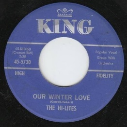 1963 Our Winter Love, Hi-Lites, King 45-5730
