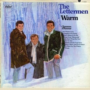 1967 Warm (LP) Lettermen Capitol Records T 2633 (Mono) ST-2633 (Stereo)