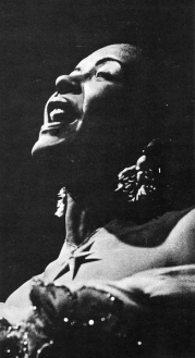 Billie Holiday, probably at Pep's Musical Bar, 25-30 April 1955 (2)
